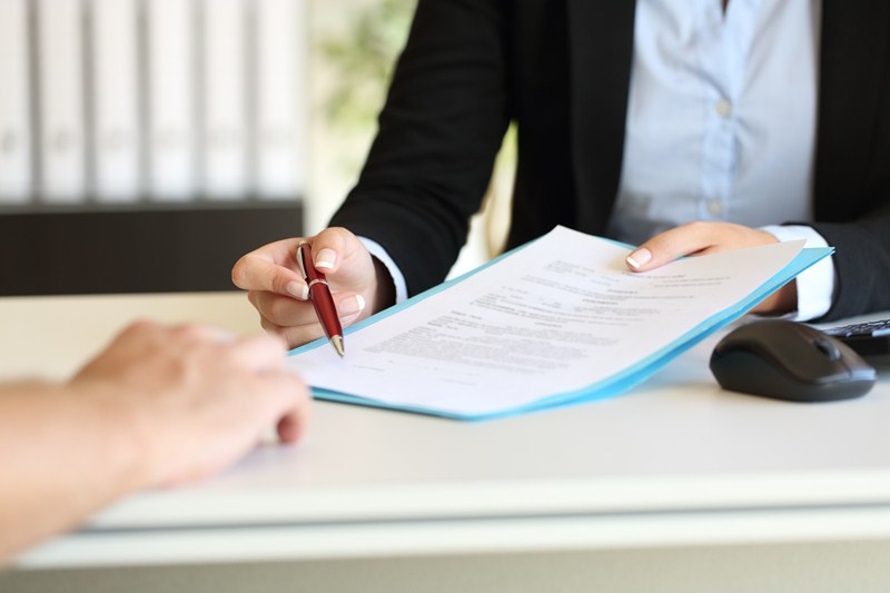 The importance of a written contract