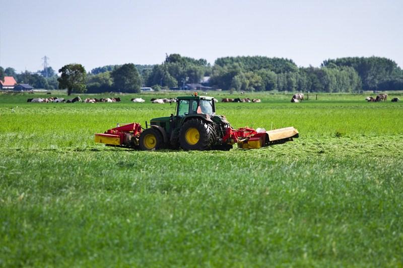 Weiden of maaien bij bepaling gebruiksnormen